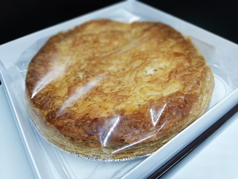 箱の中にある富士屋ホテルのアップルパイ