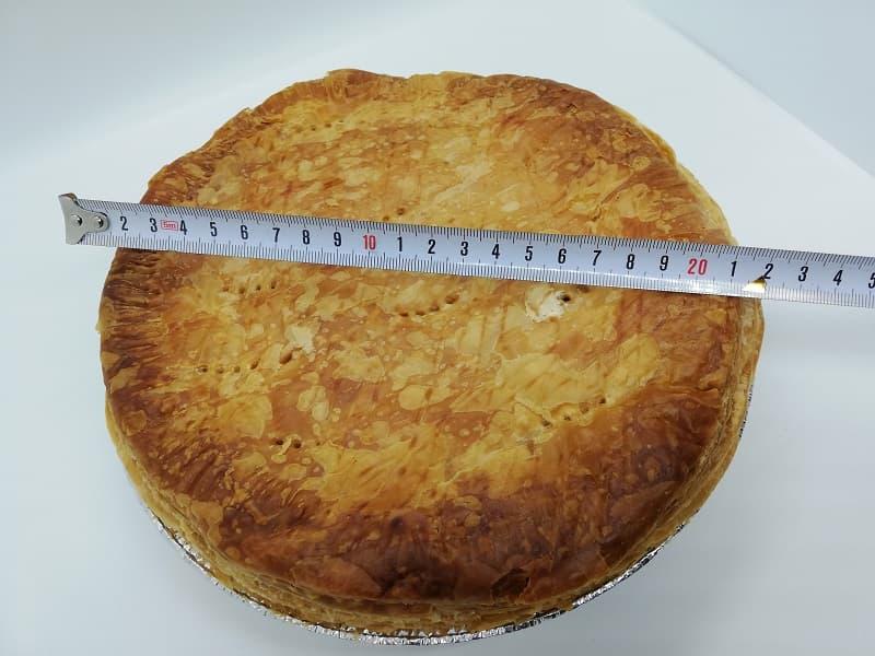 富士屋ホテルアップルパイの大きさ