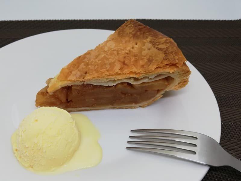富士屋ホテルアップルパイのおすすめの食べ方
