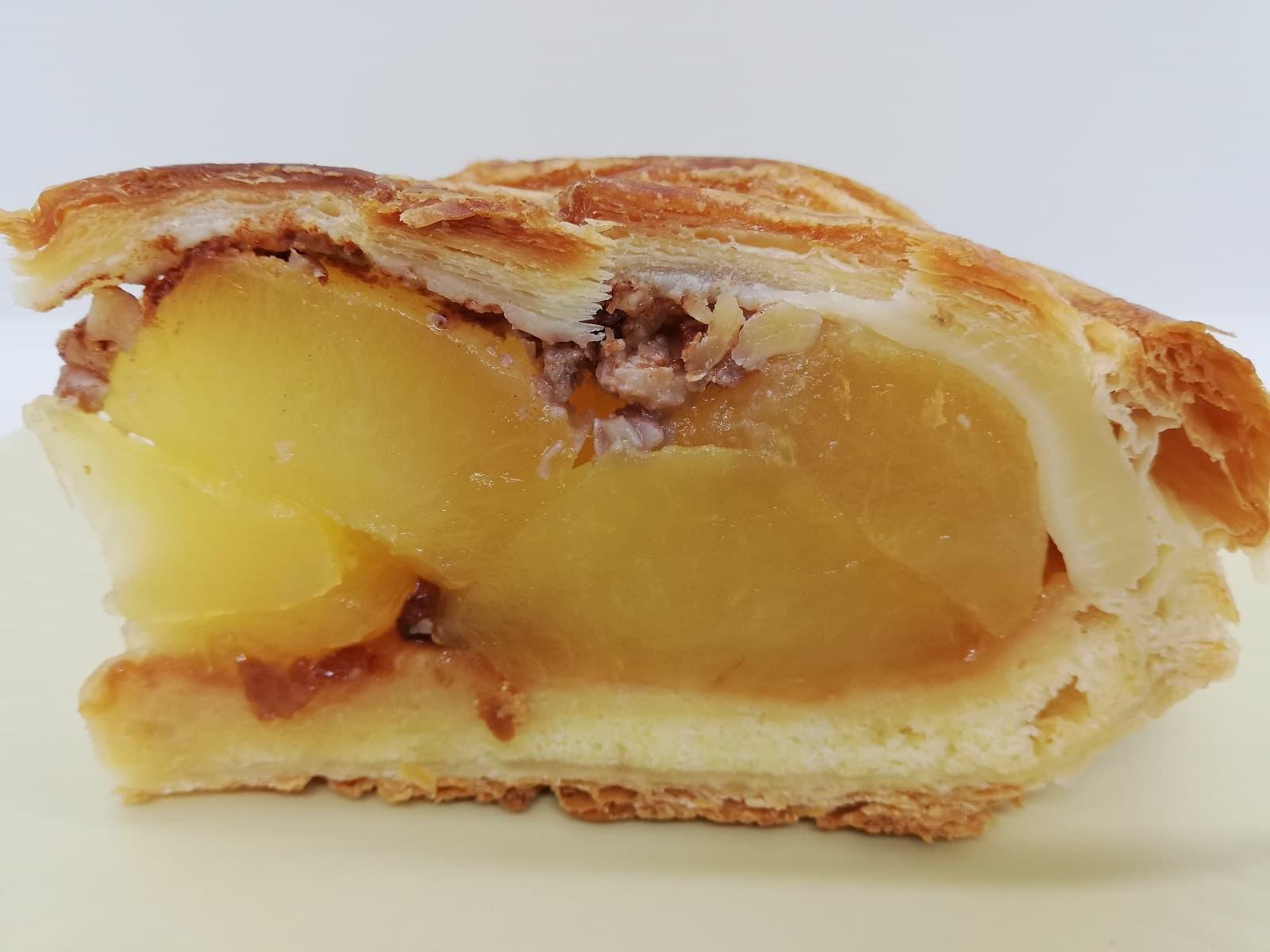 藤田観光りんご園のアップルパイのアップルフィリング