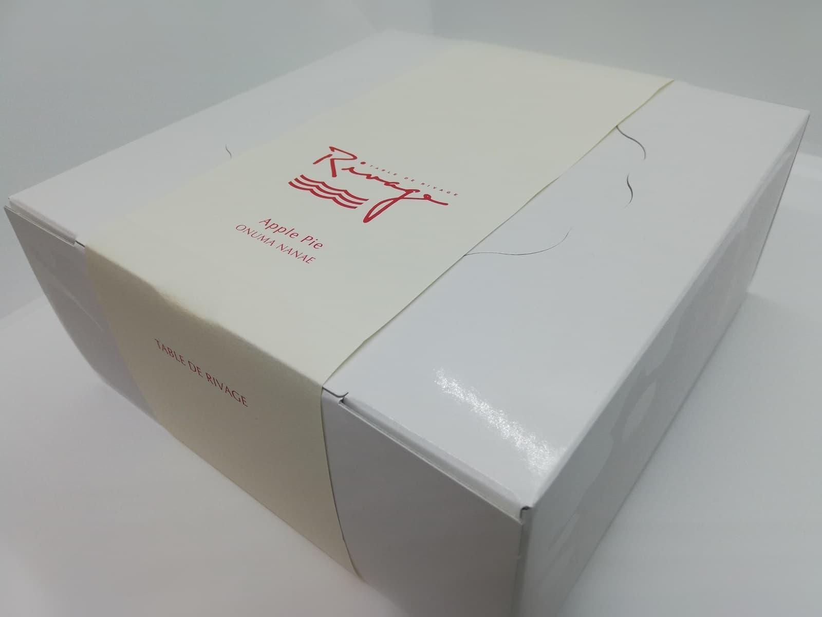 ターブル・ドゥ・リバージュのアップルパイの箱