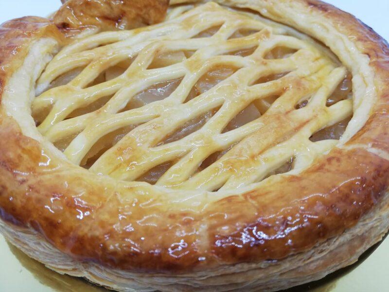 お取り寄せしたリブランのアップルパイ