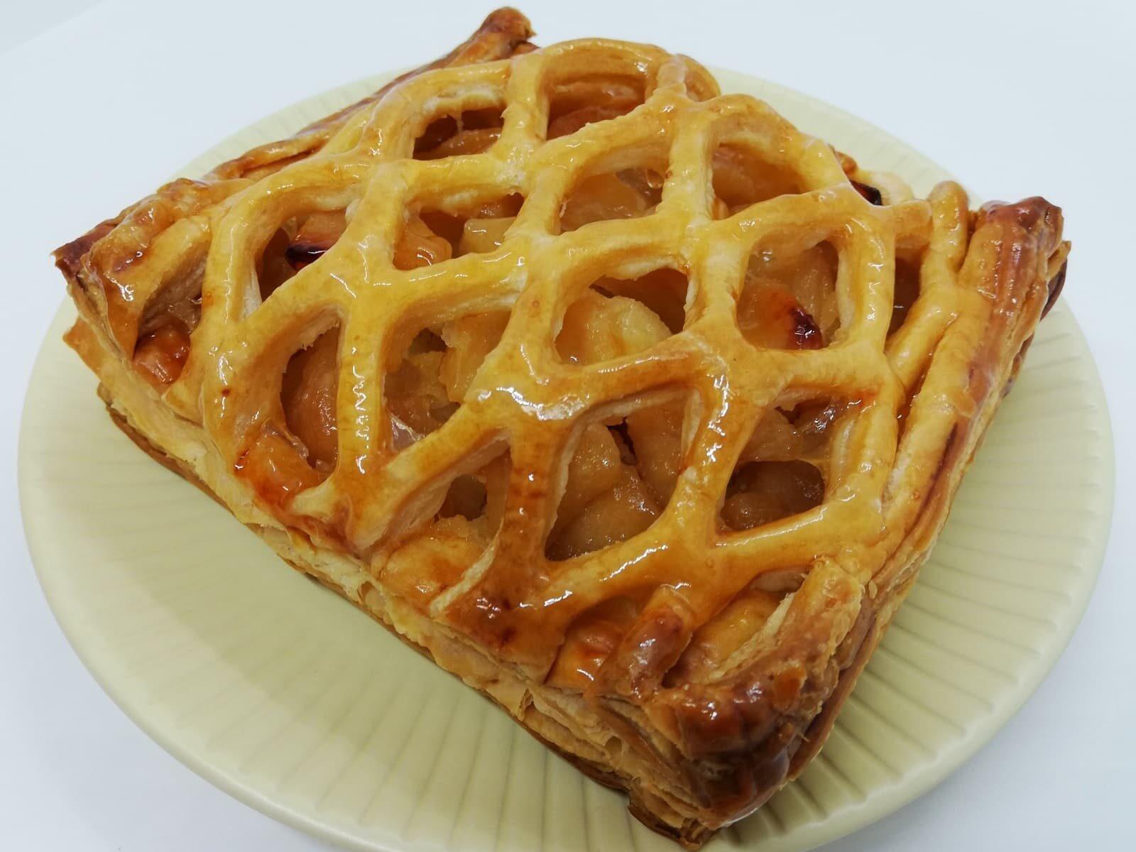 お取り寄せしたル・パン神戸北野のアップルパイ