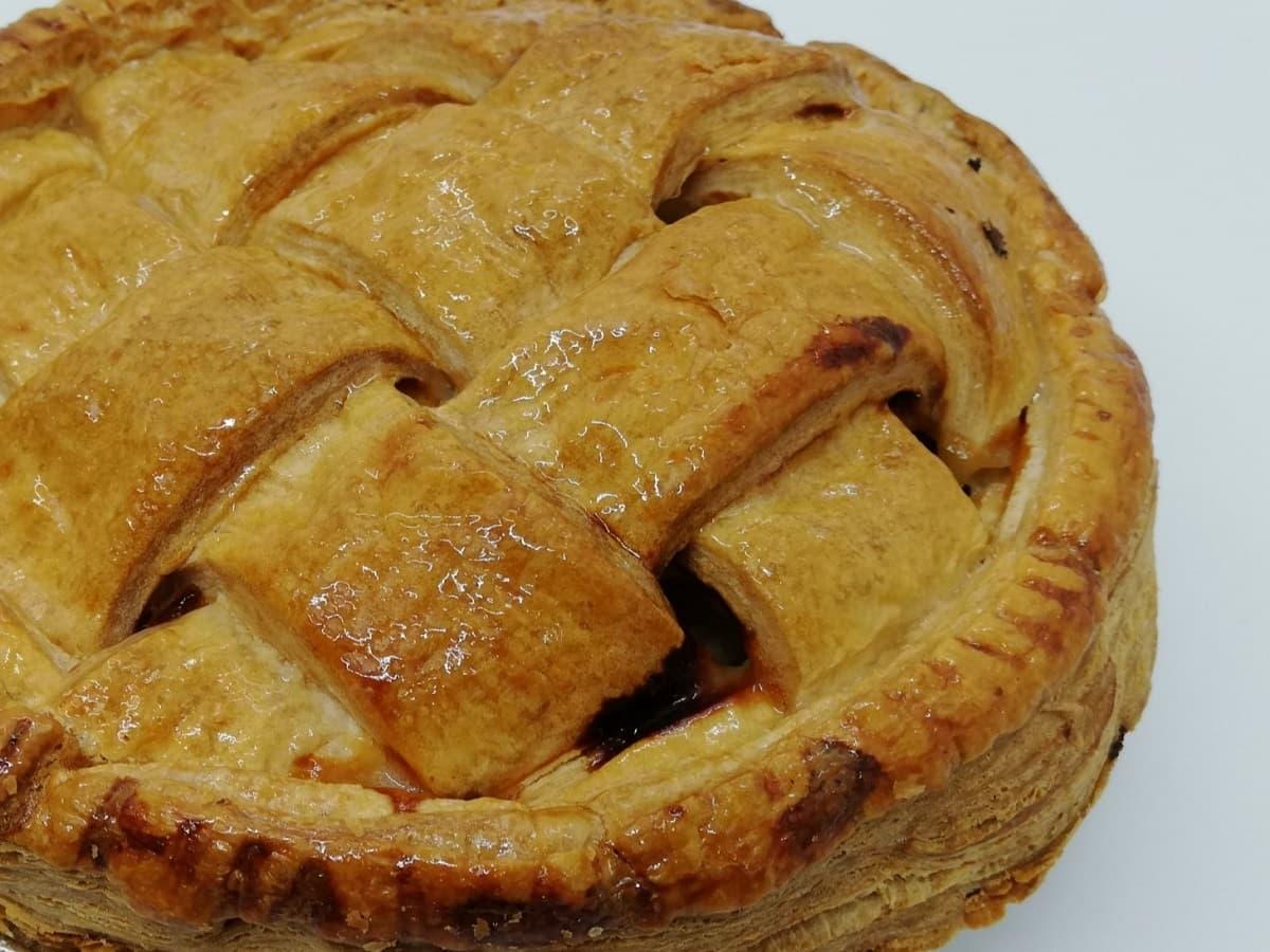 アップルパイの温め方